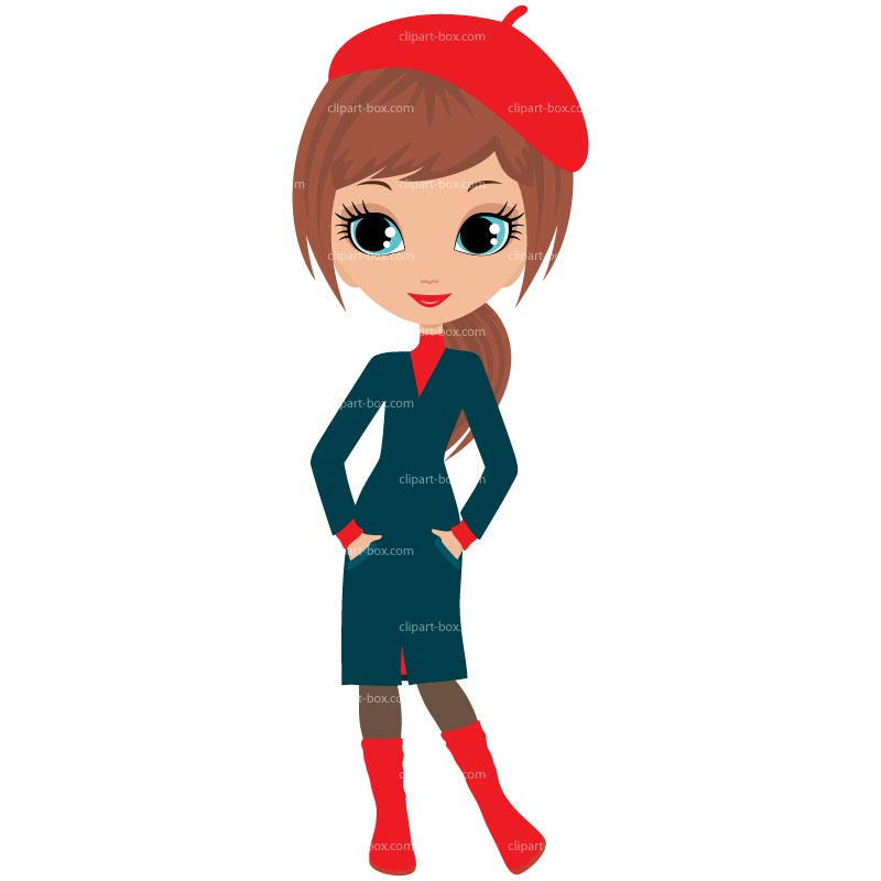 800x800 Clip Art Girl Outfit Clipart