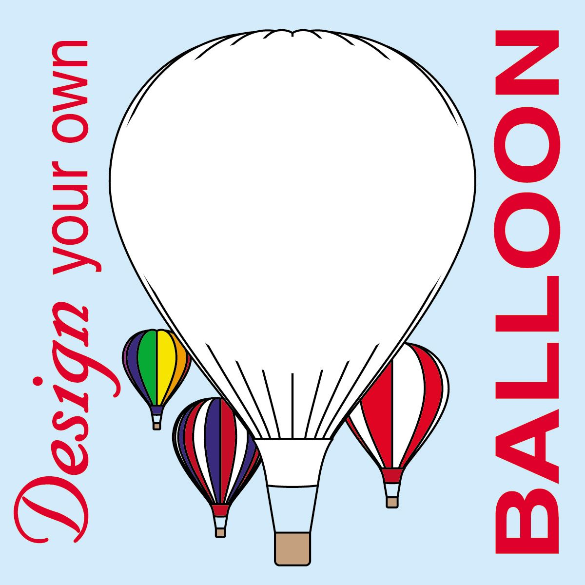 1200x1200 Clip Art Dyo Hot Air Balloon Bampw Abcteach Sculpture
