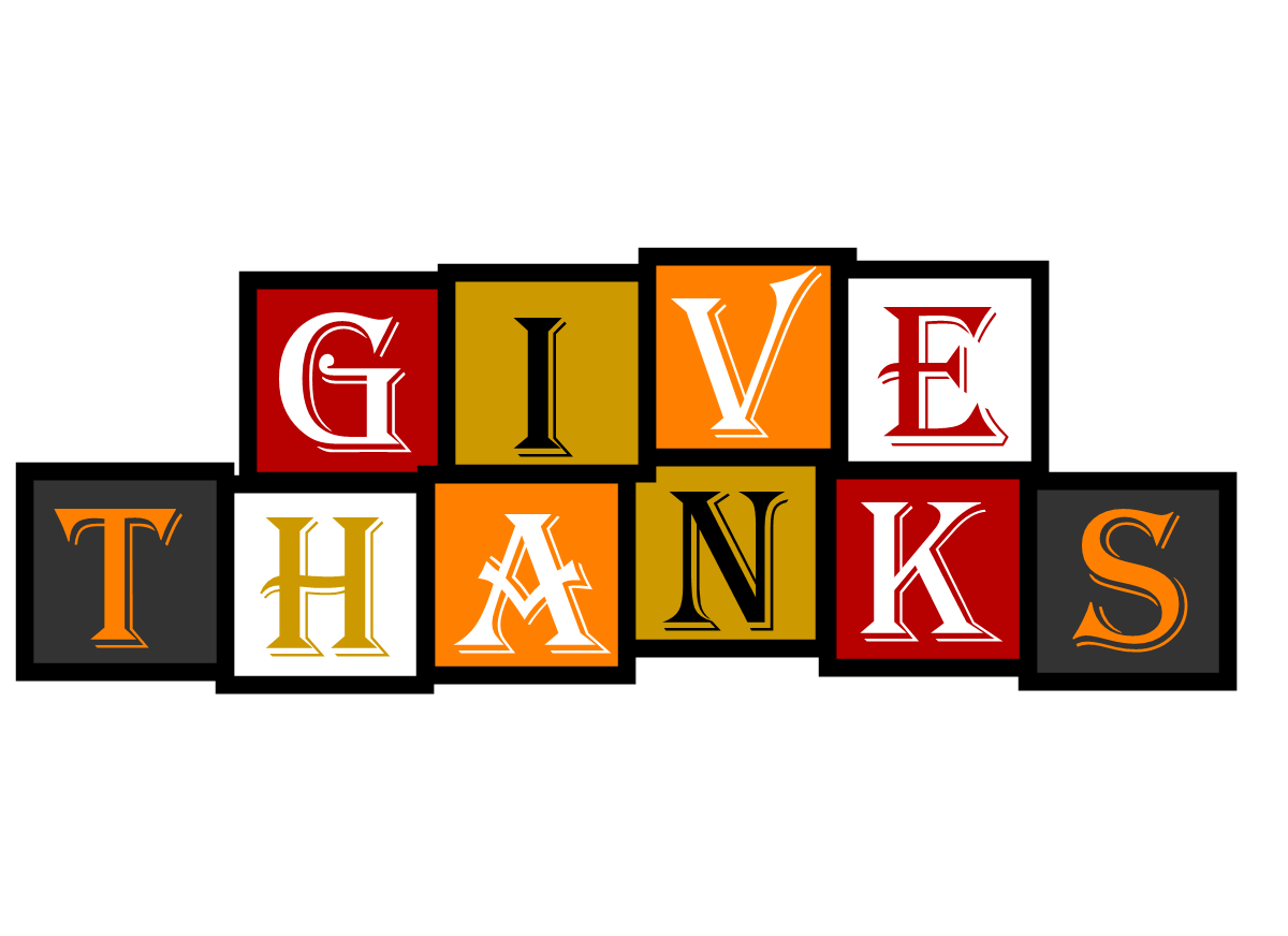 1200x872 Give Thanks Clipart