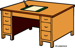 253x163 Desk Free Clipart