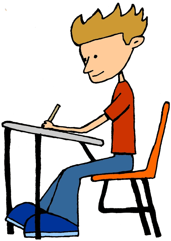 600x844 Student Working Clipart Art Clip Student Work