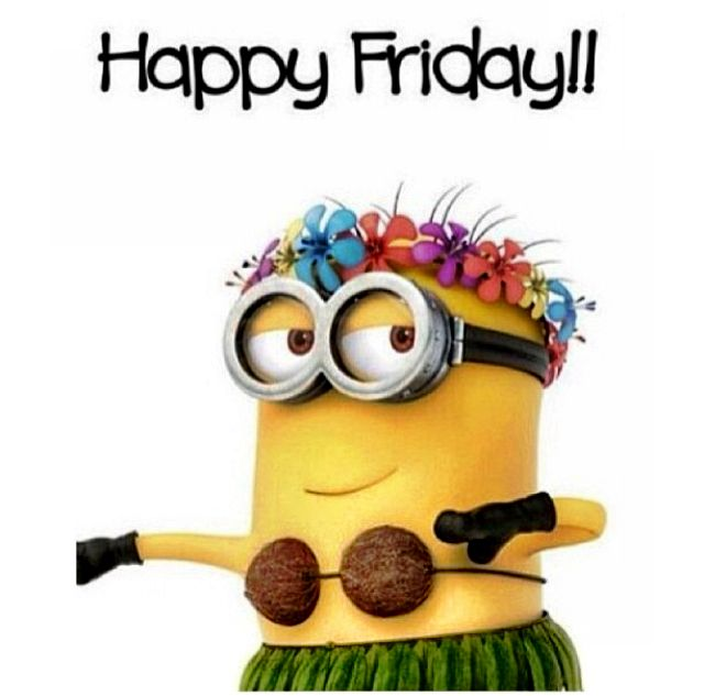 640x633 Minions Friday Clipart