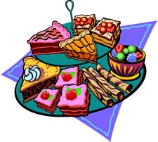 225x202 Dessert Free Clipart