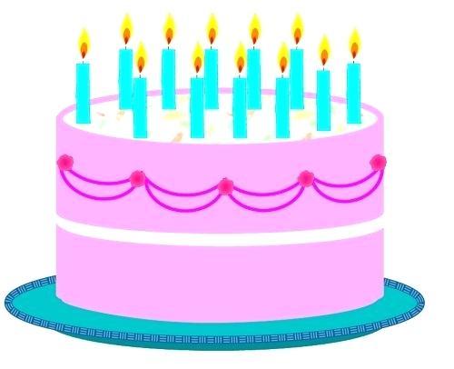 500x406 Birthday Cake Clip Art Free Birthday Cake Clip Art Images 3
