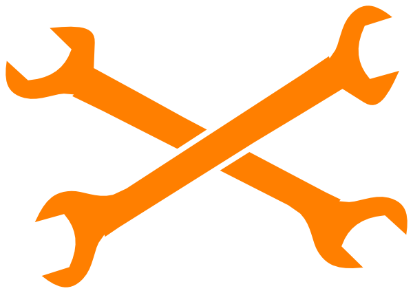 600x426 Crossed Wrenches Clip Art