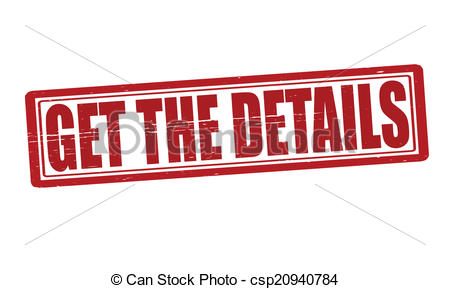 450x289 Stamp With Text Get The Details Inside, Vector Illustration Vector
