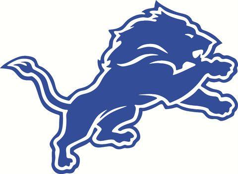 480x352 Detroit Lions Logo Vinyl Cut Out Decal
