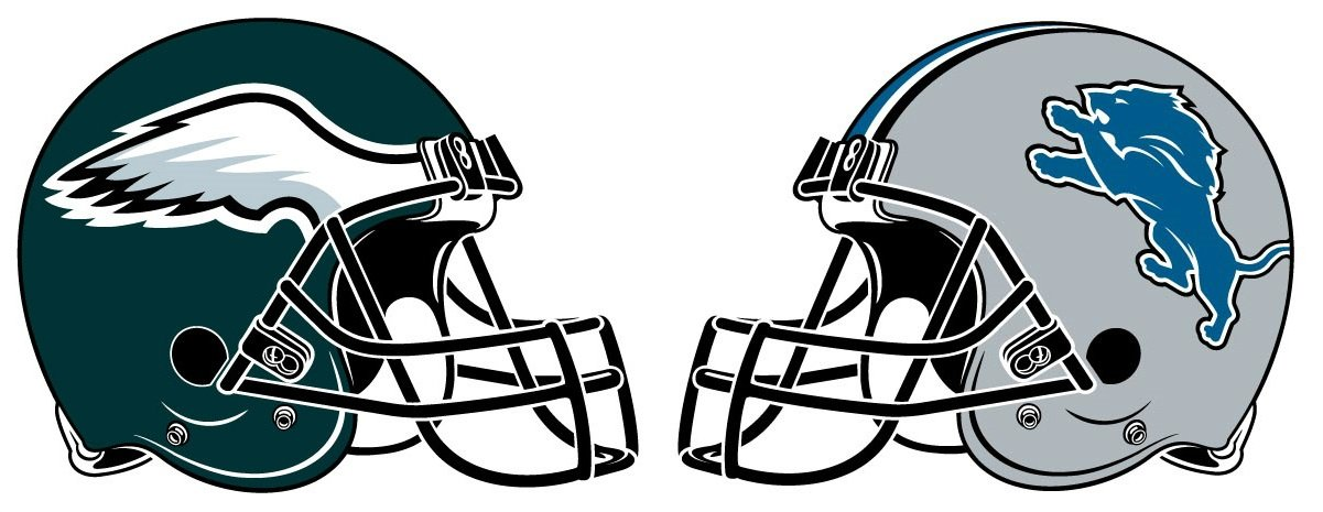 1201x465 Detroit Lions Vs. Philadelphia Eagles A By The Numbers Financial