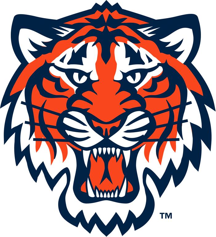 702x769 Detroit Tiger Logos Clip Art