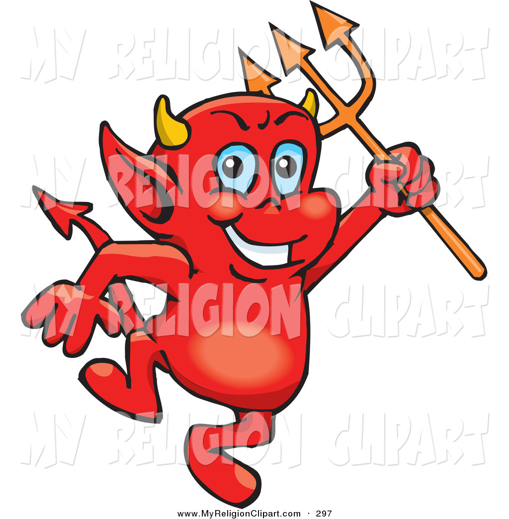 1024x1044 Religion Cliprt Of Troublesome Little Red Devil Dancing