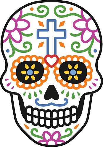 348x496 Day Of The Dead Clipart Day Of The Dead Clipart Backgrounds