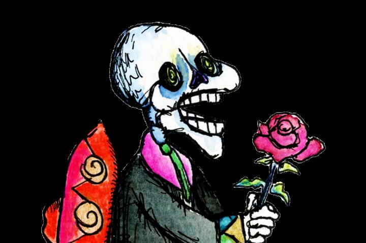 720x479 Day Of The Dead Skeleton Clip Art