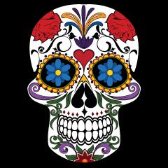 240x240 Dia De Los Muertos Skeleton Clipart. Checa Algunos Secretos Sobre