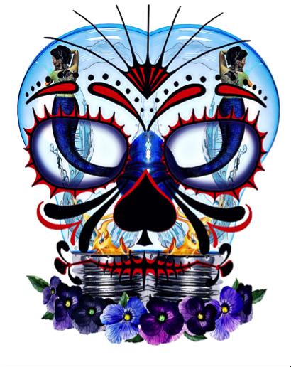 410x516 History Of Day Of The Dead ~ De Los Muertos World Of Dharma