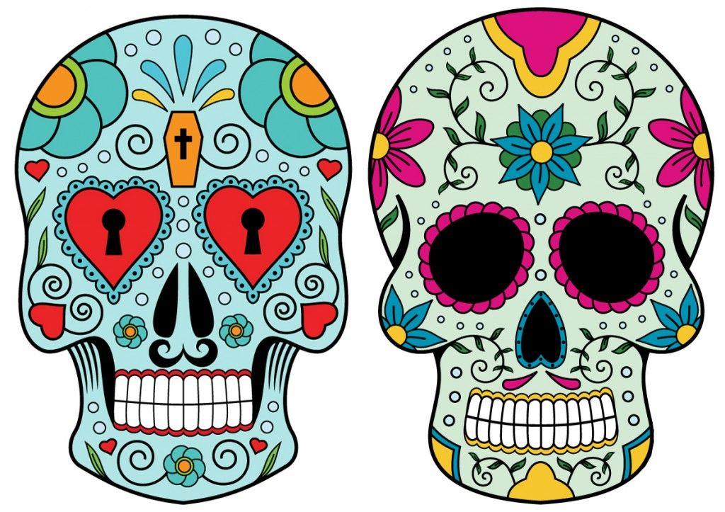 1024x723 Caveira Mexicana Desenho Tumblr