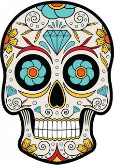 236x340 Day Of The Dead Skull Clipart Clip Art, Sugar Skulls Clipart Clip