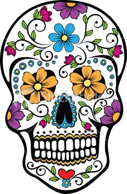 249x380 Vector Illustration Of A Mexican Celebrated Holiday