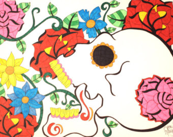 340x270 Day Of The Dead Clipart Child