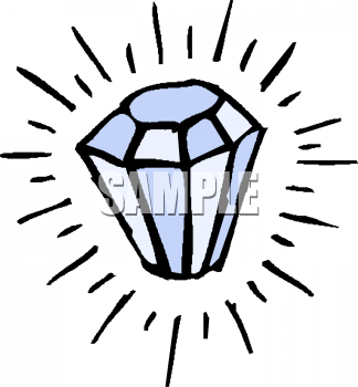 324x350 Royalty Free Diamond Clip Art, Science Clipart