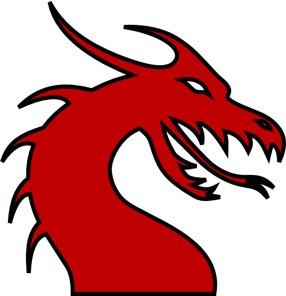 576x596 Simple Dragon Outline Gallery Images)