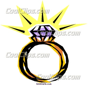 300x290 Diamond Ring Clip Art