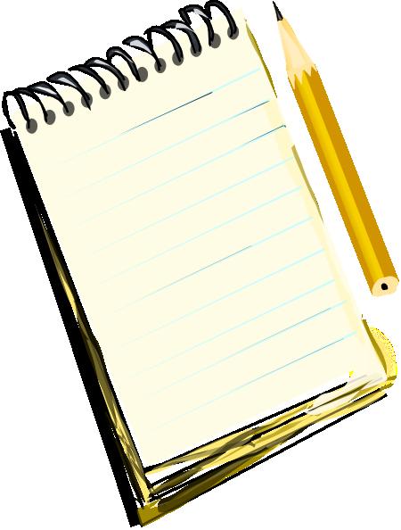 450x594 Notebook Kint Clip Art