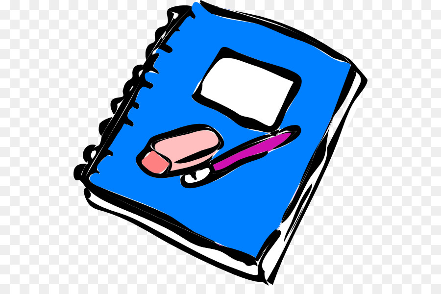 900x600 Paper Notebook Writing Diary Clip Art