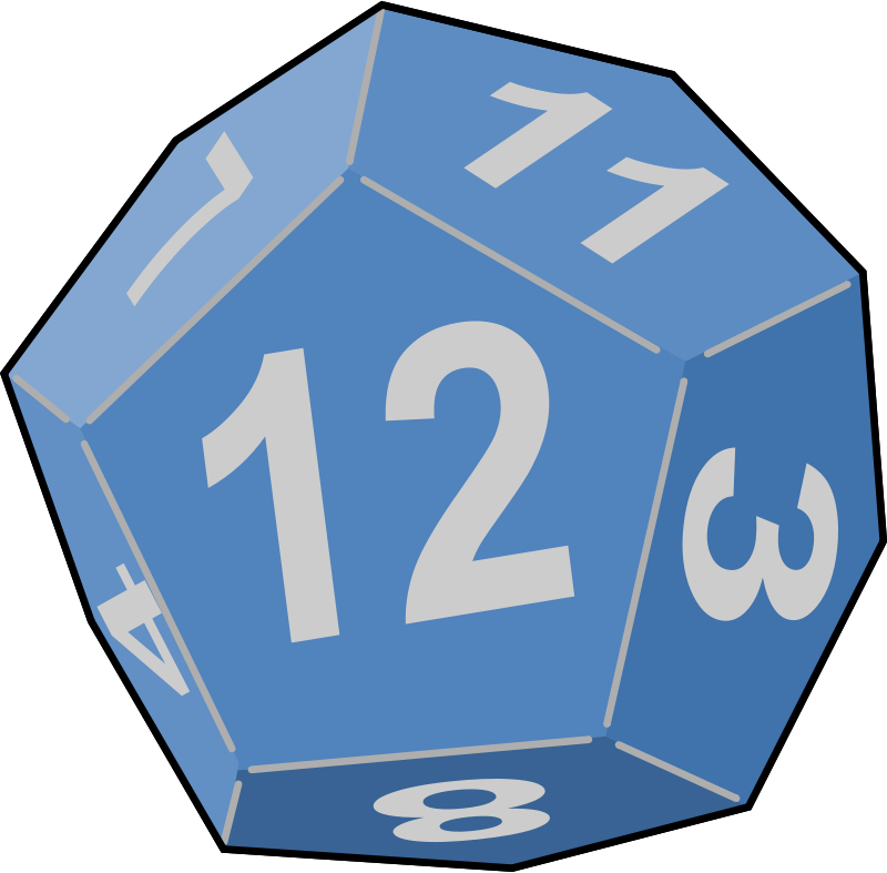800x787 Free Clipart Dice Yves Guillou