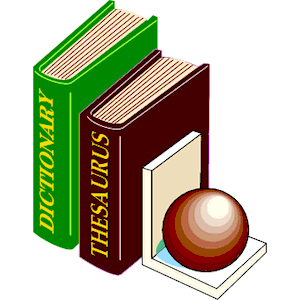 300x300 Dictionary Amp Thesaurus 2 Clipart, Cliparts Of Dictionary