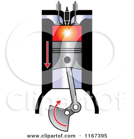 450x470 Clipart Of A Diesel Compression Ignition
