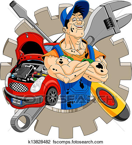 427x470 Collection Of Diesel Mechanic Clipart High Quality, Free