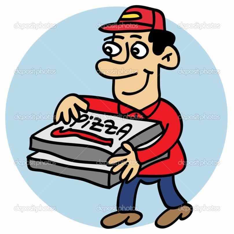 809x809 Clip Art Service Clipground Service Pizza Delivery Clipart
