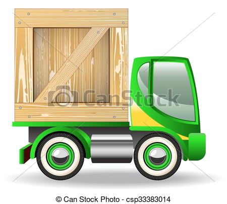 450x405 Delivery Truck Icons Isolated On White Background Vector Clip Art