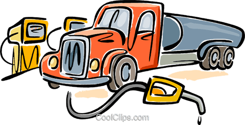 480x245 Fuel Truck Royalty Free Vector Clip Art Illustration Vc099201