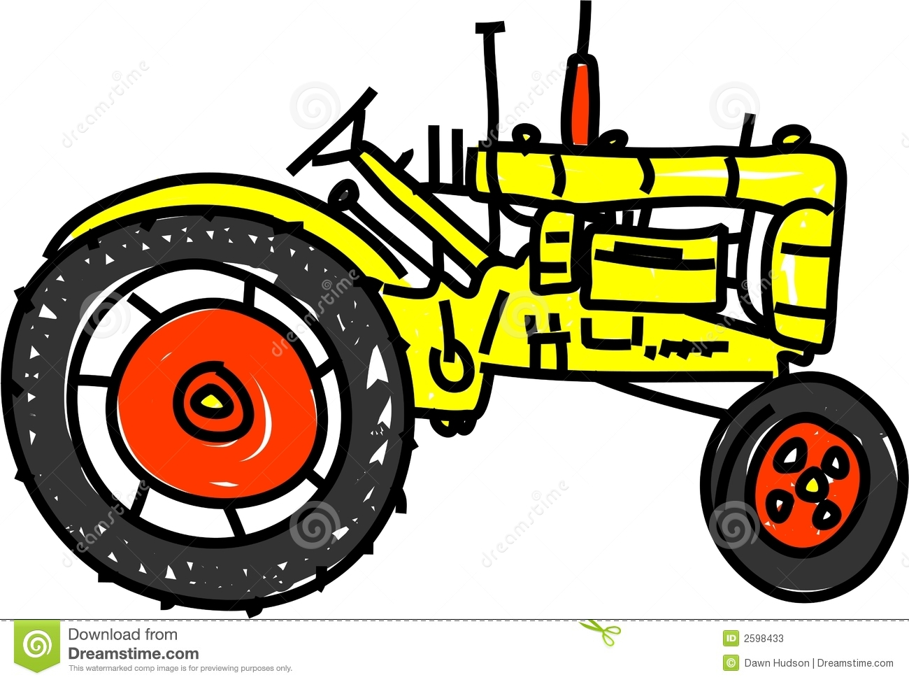 1300x975 Tractor Clip Art