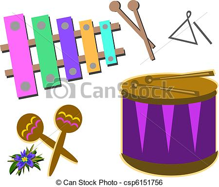 450x384 Mix Of Percussion Instruments. Here Are Different Clip Art