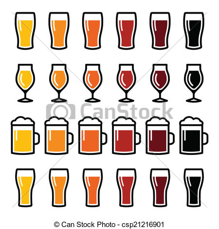 450x470 Beer Glass Images Clip Art Beer Glasses Different Types Icons