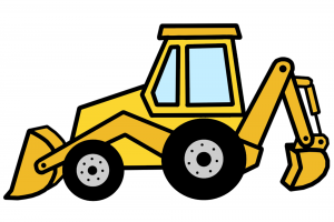 300x200 Collection Of Jcb Digger Clipart High Quality, Free Cliparts
