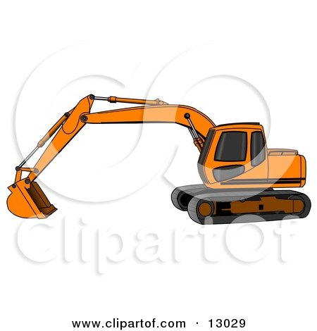 450x470 Royalty Free (Rf) Excavator Clipart, Illustrations, Vector Graphics