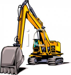 282x300 A Heavy Digger Construction Vehicle