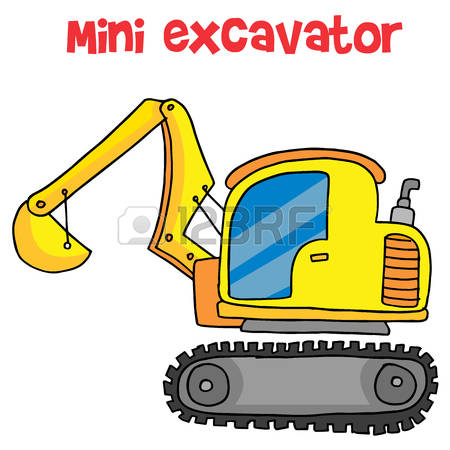 450x450 Bobcat Clipart Mini Excavator