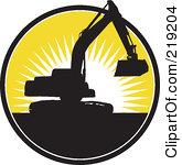 165x150 Clip Art Excavator Bucket Clipart