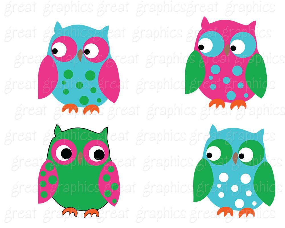 1000x800 Preppy Owl Clip Art Owl Digital Paper Owl Digital Clipart Digital