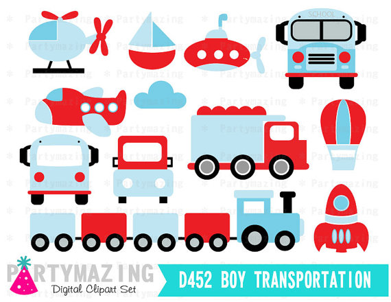 570x440 Transportation Clipart For Boys (Personal Amp Small Business Use