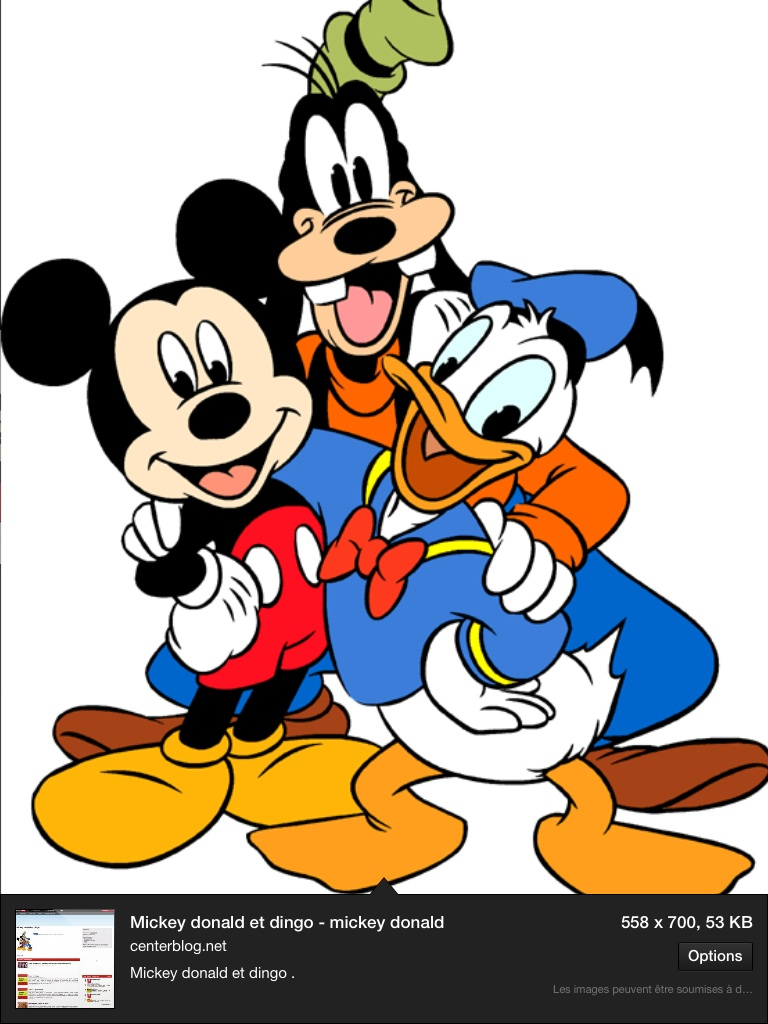 768x1024 Dingo Donald Et Mickey Arts And Crafts