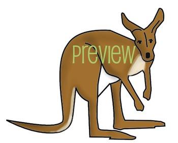 350x281 Australia Food Web Clip Art Set