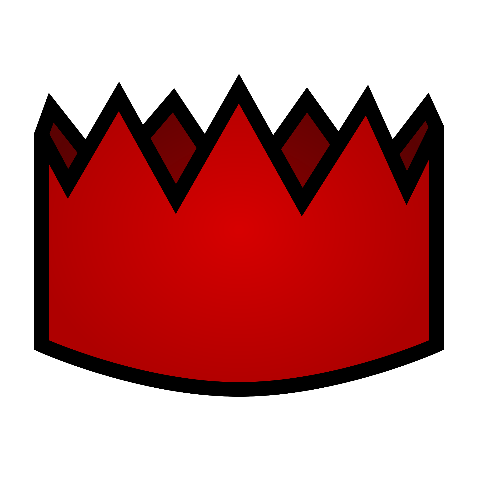 2000x2000 Filered Party Hat.svg