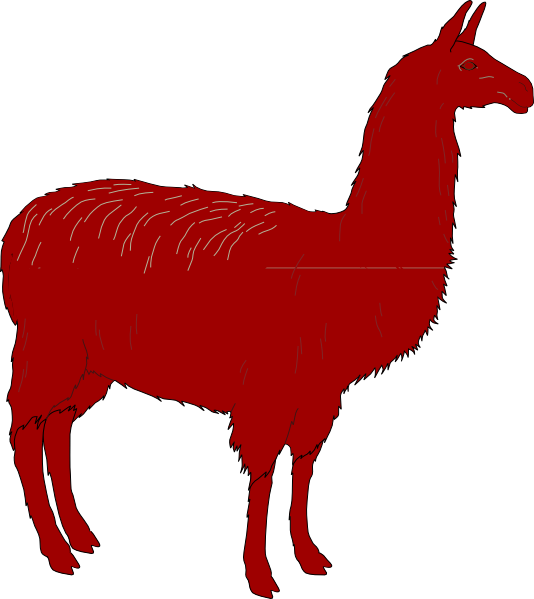 534x599 Llama Clipart Gallery Images)
