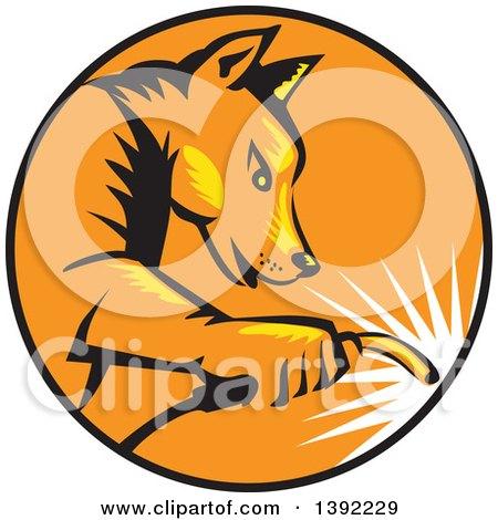 450x470 Royalty Free (Rf) Dingo Clipart, Illustrations, Vector Graphics