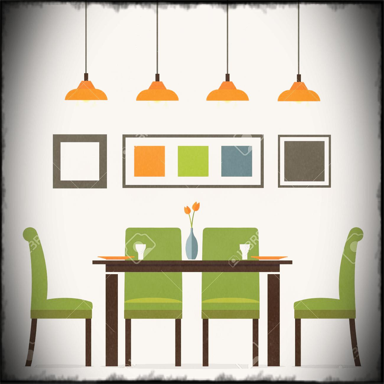 Dining Table Clipart at GetDrawings.com | Free for ...